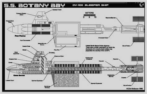 Sleeper Ship by Jackill Starfleet Sleeper Ship Botany Bay Dy 100