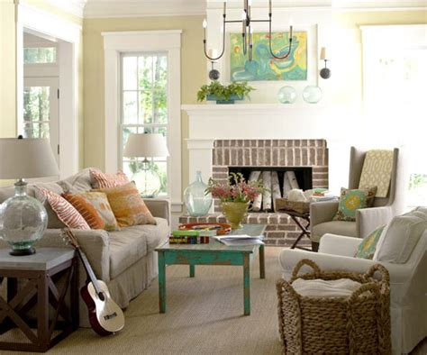 neutral living room 2013 neutral living room decorating ideas from bhg