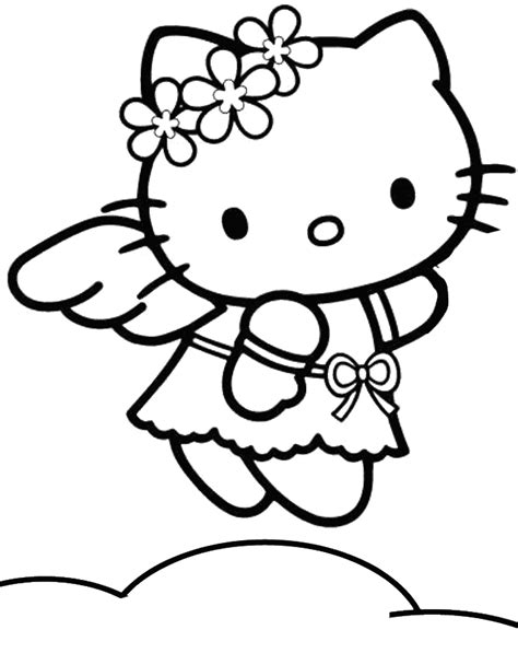 lulu kitty coloring pages cartoon groundhog pictures cliparts co