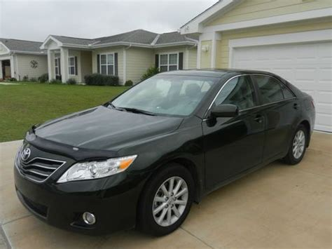 2010 Toyota Camry Xle Find Used 2010 Toyota Camry Xle V6 Spruce Mica Auto