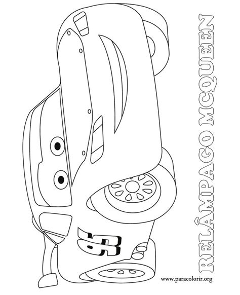 cars characters coloring pages a beautiful picture of the race car lightning mcqueen he