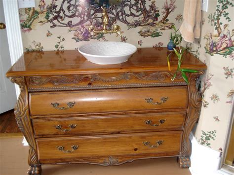 Using Vintage Furniture Bathroom Vanity Bathroom Furniture Vanities Bathroom