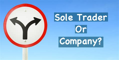 Start Business From Home sole trader or company