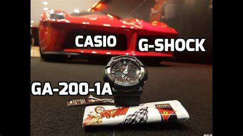 G Shock Ga200 Original original casio g shock ga 200 1a unboxing in
