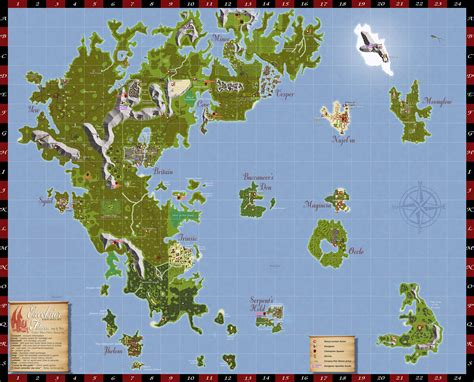 Uo Finder 100 Uoam Uo Auto Map Ultima Yaks Uo World Ultima Freeshard Amonthia