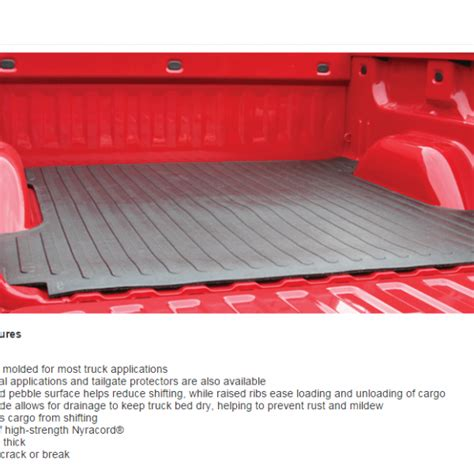 protecta bed mat rubber bed mat click here to enlarge koneta rubber truck