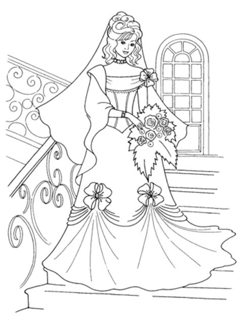 coloring pages of princess dresses 301 moved permanently