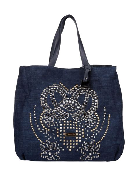 Blue Tosca 9 tosca shoulder bag in blue blue lyst