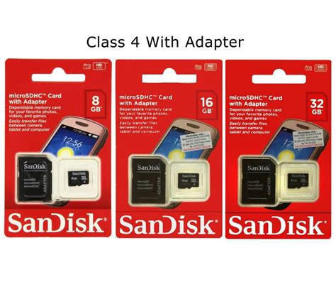 Memory Card Sandisk 8gb Class 4 sandisk micro sd memory card class 4 end 1 28 2018 1 18 am