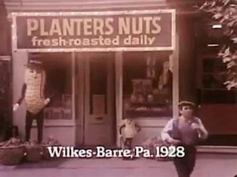 Planters Nut Commercial by Early 70 S Or Maybe 1928 Frank Gifford Commercial For