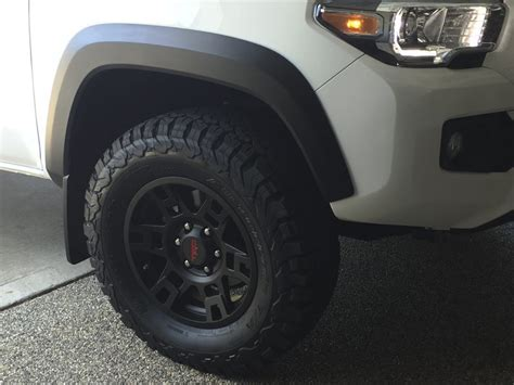 toyota ta rims and tires 17 quot trd pro rims and bfg at tko2s tacoma world