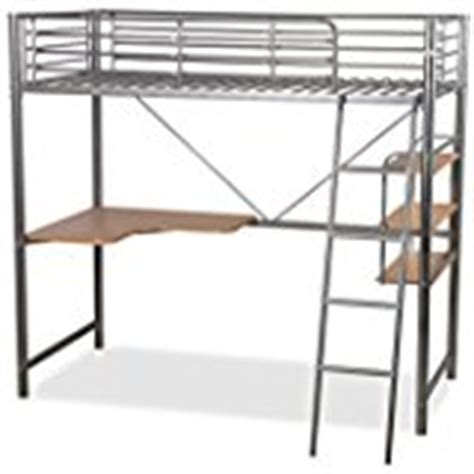 Metal High Sleeper Bed Frame by Cabin Bed High Sleeeper With Desk In White New York 2 6