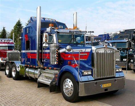 kenworth wl  heavy load semi trailer photo  specs