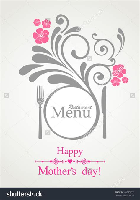mothers day cards template word happy s day restaurant menu card design menu