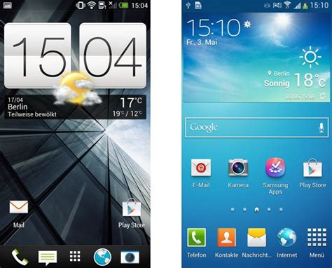 samsung touchwiz und htc sense im vergleich androidpit