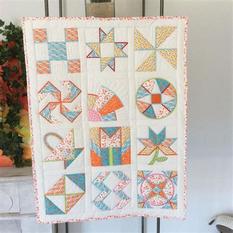In The Hoop Quilt Blocks by Dear Allison Quilt Block Machine Embroidery Design In The