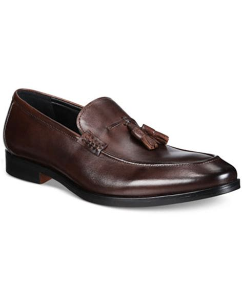 loafers macy s alfani s declan leather tassel loafers created for