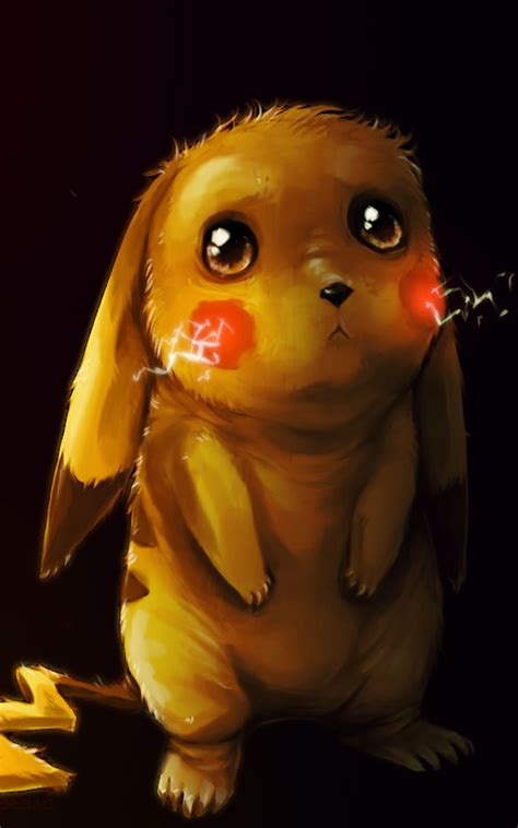sad pikachu   ultra hd mobile wallpaper