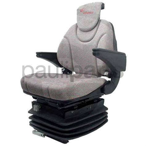black decker ersatzteile seat mechanical loaded with headrest for tractor