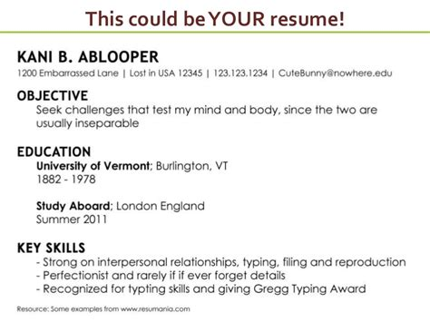 How To Write An Effective Resume by How To Write Effective Resume Ameriforcecallcenter Us