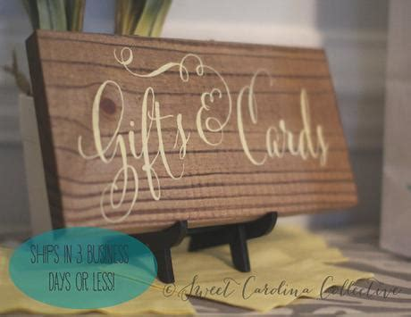 Wooden Wedding Signs by Sweet Carolina Collective   Paperblog