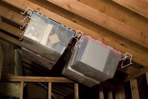 Unfinished Garage Organization Ideas 9 Tricks To Turn An Unfinished Attic Into A Practical