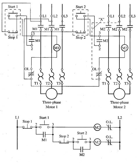 wiring diagram for 3 phase motor starter wiring diagram motor starter wiring diagram eaton motor
