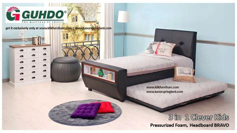 Kasur Anak Napolly bed anak 3 in 1 clever guhdo sale