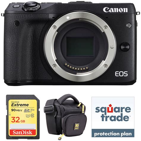 Canon Eos M3 Mirrorless canon eos m3 mirrorless digital deluxe kit b h photo