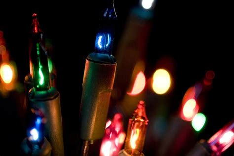 the history behind hanging christmas lights