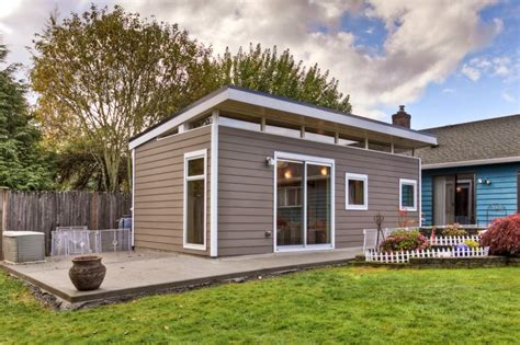 shed homes prefab guesthouse kit westcoast outbuildings