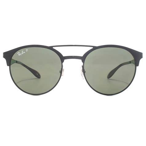 ban bridge metal sunglasses in black