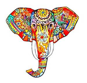 colorful elephant 17 best images about elephant s on