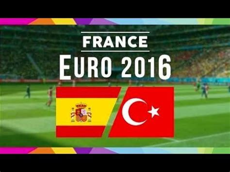 Find In Spain Where To Find Spain Vs Turkey On Us Tv And World Soccer Talk