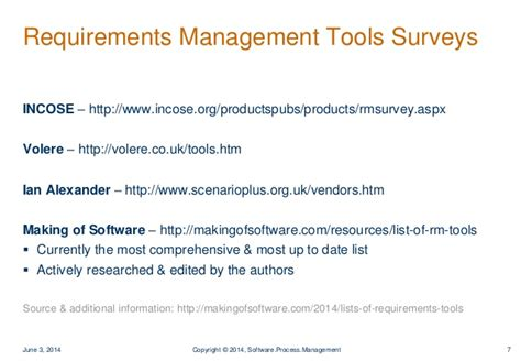 list of requirements management tools the making of modern requirements tools advantages applications
