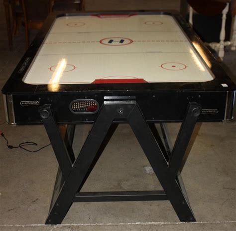 air hockey table over pool harvard air hockey game w flip over for pool table