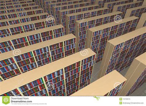 biblioteca de imagenes sin copyright biblioteca sin fin fotos de archivo imagen 10733513