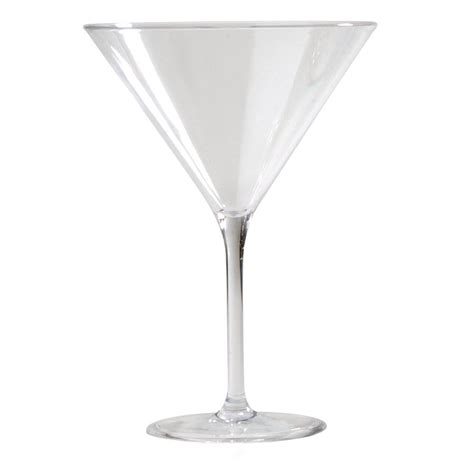 martini clear carlisle alibi 9 oz martini glass in clear set of 24
