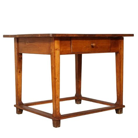 late 19th century tyrol desk working table solid wood restored and wax finished for sale at 1stdibs