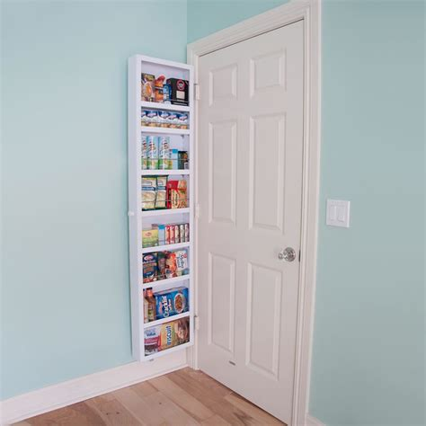 Door Storage Cabinet This Back Of The Door Cabinet Solves Small Apartment Storage Problems