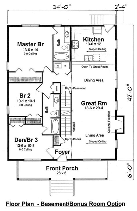 2 Family House Plans Narrow Lot by House Plans Family Home Plans And Bonus Rooms On