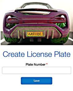 Vanity License Plate Maker by 1000 Images About License Plate On Vanity