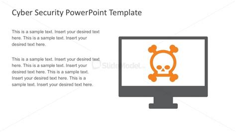 theme for computer ppt computer threats and hacking theme for powerpoint slidemodel