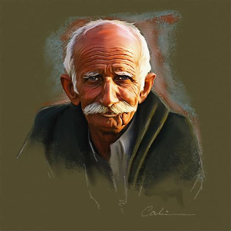 tutorial smudge painting photoshop cs4 digital painting old man by odwin rensen advanced