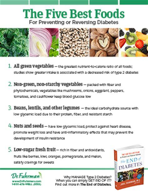 best food for diabetic 5 best foods for diabetes drfuhrman