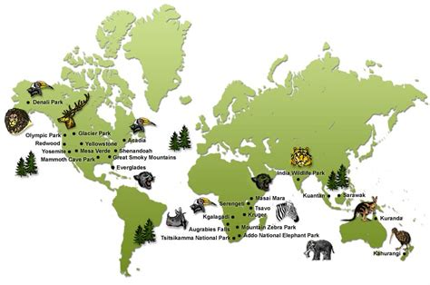 best national parks in the world best wildlife parks in the world best national parks in