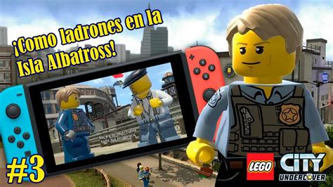 Promo Switch Lego City Undercover cap 3 161 como ladrones en la isla albatross lego city undercover switch