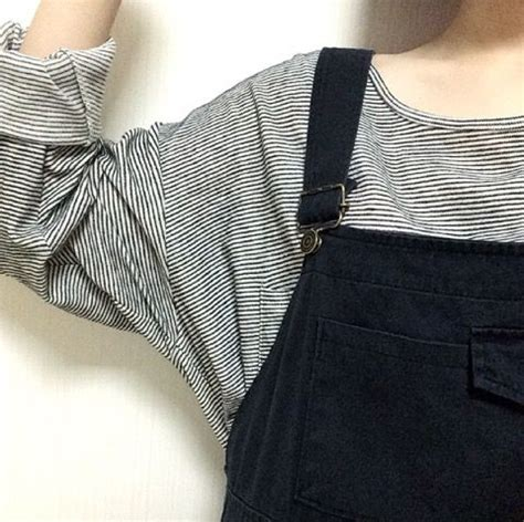 Overall Stripy black plain mid waist denim jumpsuit black overalls overalls and grunge