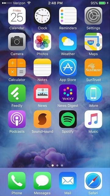 your iphone 6s homescreen iphone ipod forums at imore