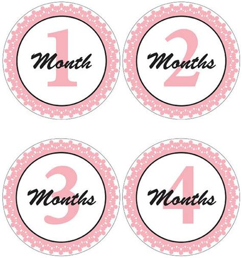 printable baby stickers 90 best images about babyshower printables on pinterest